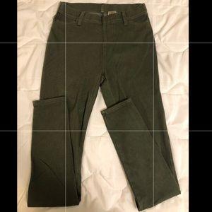 Dark Green Faded Glory Jeans